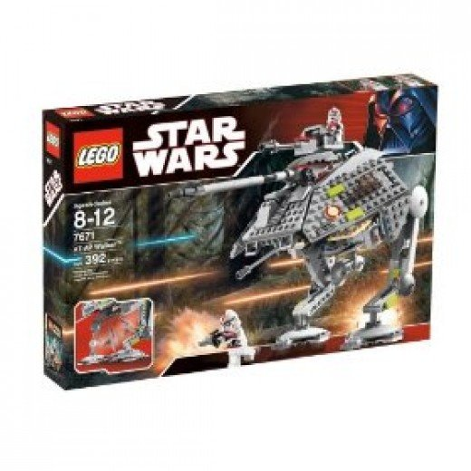 Lego AT-AP Star Wars Set