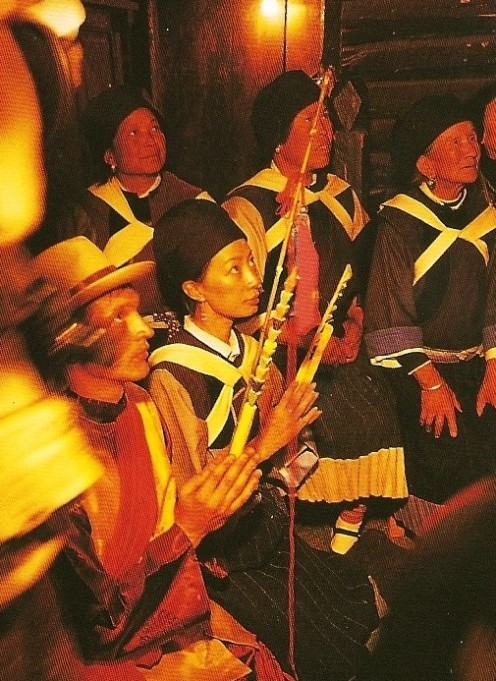 China's many ethnic minorities each worship their own deities. Yunnan Province, china.