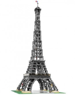 The Lego Eiffel Tower Monument is one of the most stunning Lego Sets from the LEGO Monuments series!