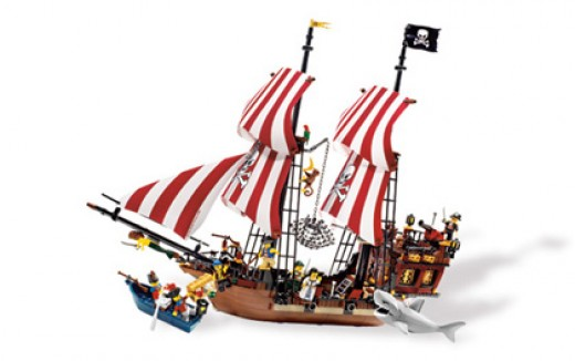 The Lego Pirate Ship in LEGO Pirates Brickbeard's Bounty is one of the best Lego Pirate Ships available!