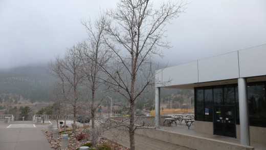 The Visitor Center at the Air Force Academy.