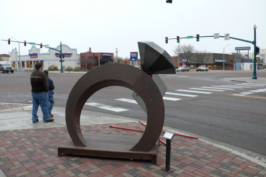 Interesting sight in Downtown Colorado Springs!
