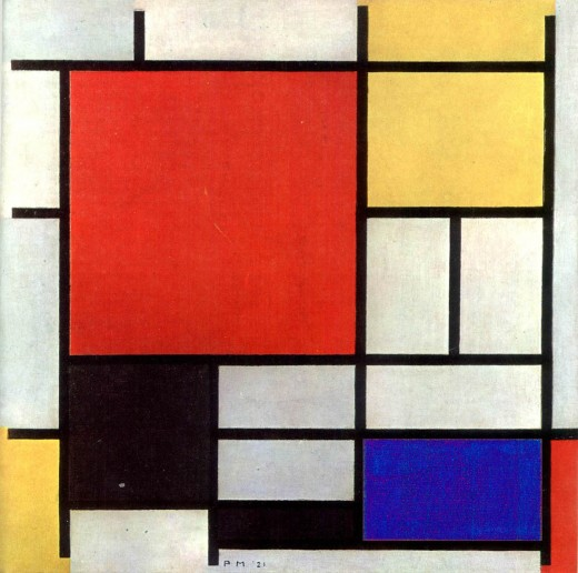 Mondrian Canvas