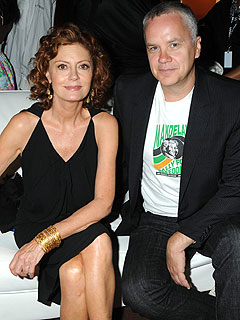 Susan Sarandon and Tim Robbins just split this year, age difference is 12 years