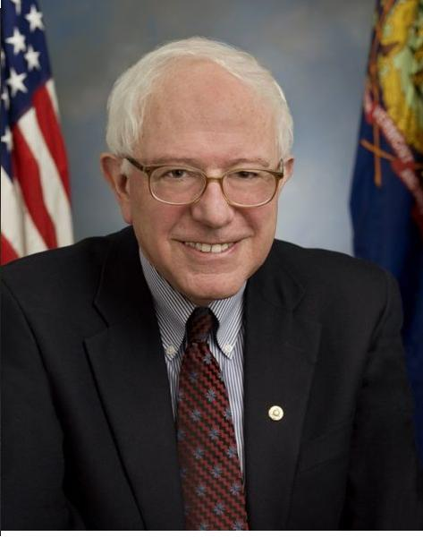 Senator Bernie Sanders of Vermont (Public Domain Photo courtesy of WikiPedia.org  http://en.wikipedia.org/wiki/File:Bernie_Sanders.jpg  )