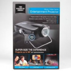 Sharper Image Entertainment Projector Great for Videos and Games