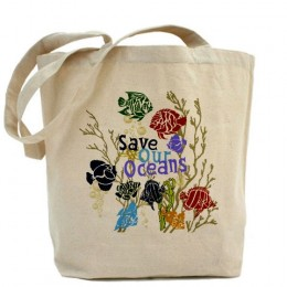 Save our Oceans Reusable Tote Bag