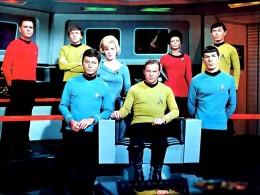 The cast of Star Trek