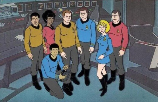 The animated Star Trek.