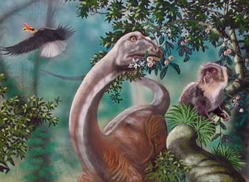 Mokele-Mbembe Artwork by Bill Rebsamen
