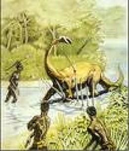Lt. Fawcett's dinosaur