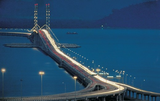 Penang bridge-another view