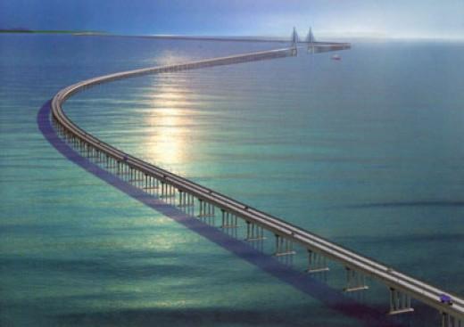 Shanghai-Donghai bridge