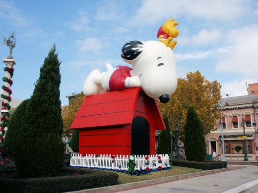 Universal Studios Christmas Holiday Pictures
