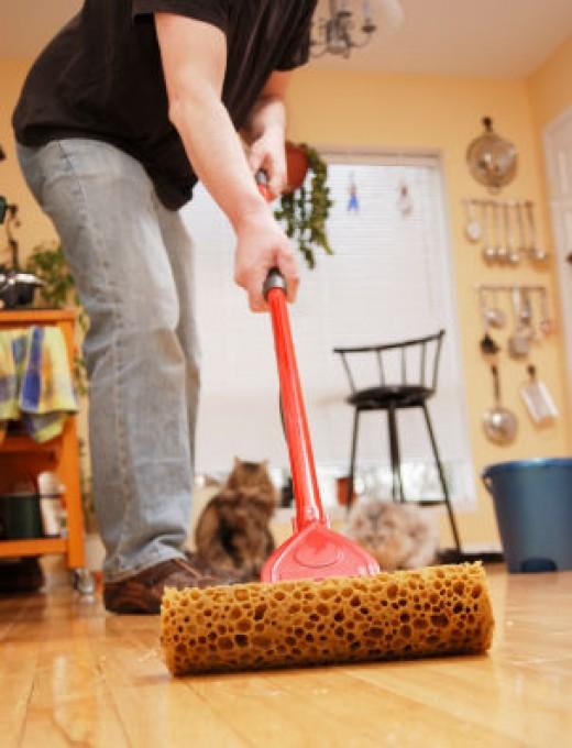 Cleaning Hardwood