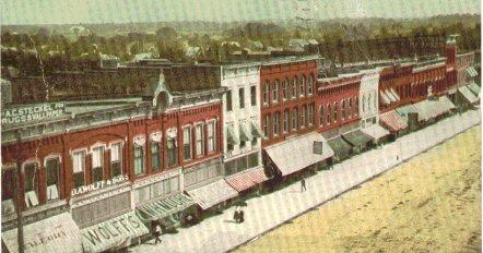 Bryan, Ohio in 1910.