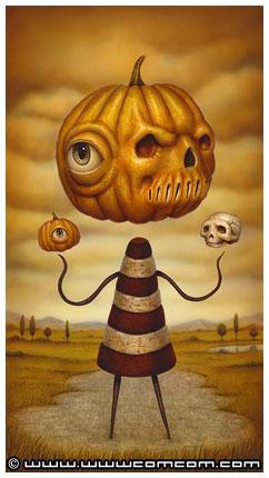 Pumpkin Head by Naoto Hattori
