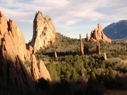 Valley in the Garden of the Gods, Colorado Springs