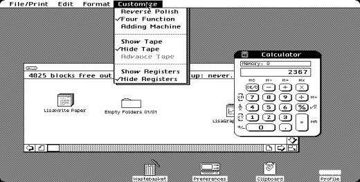 Apple Lisa Desktop