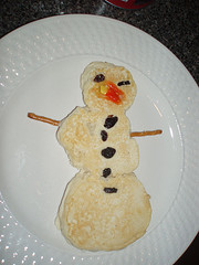 A real snow pancake!