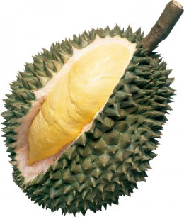 Durian: This foul smelling fruit has been banned from public transportation and hotels.