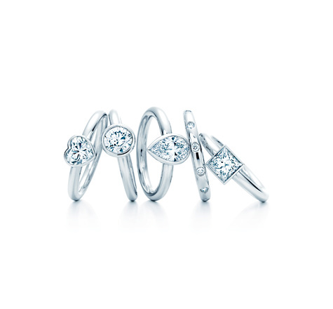 Tiffany Engagement Rings | Photo credit:  Tiffany & Co.