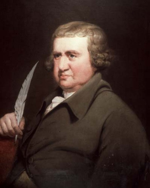 Erasmus Darwin by Joseph Wright