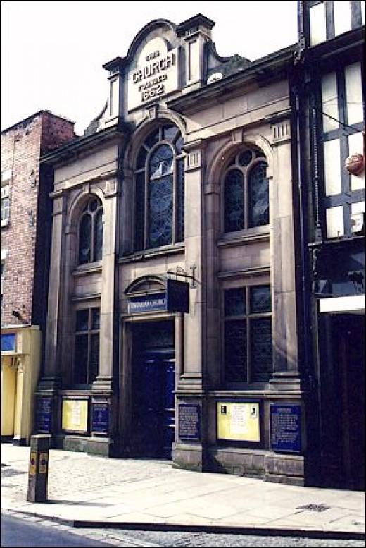 The Unitarian Chapel in Shrewsbury