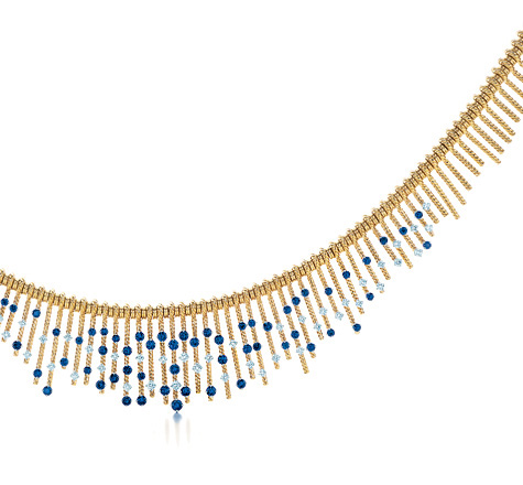 Tiffany Golden Necklace | Photo credit:  Tiffany & Co.
