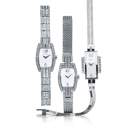 Tiffany Watches | Photo credit:  Tiffany & Co.