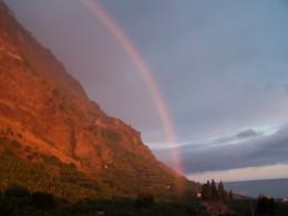 Rainbow Reflection, Madeira