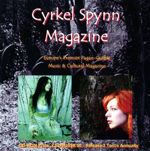 Cyrkel Spynn Magazine - Volume Three - Issue One - Front Cover