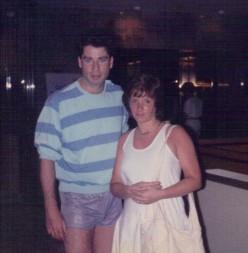 Yup...that's John Travolta!