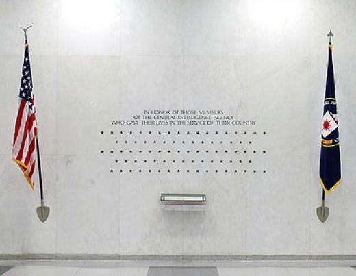 CI Memorial Wall , Langley VA photo Wikepedia