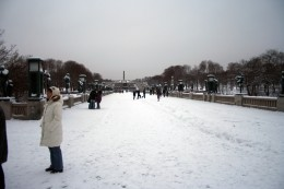 Vigeland's Sculpture Park is about 800 Meters Long