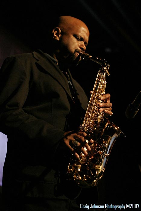 "dressed to the ""Nines"", Saxophonist, Dale Fielder, Angel City Quartet"