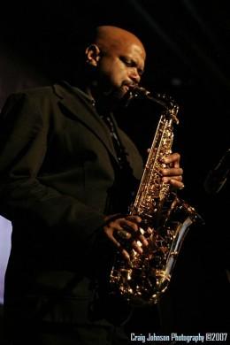 "dressed to the ""Nines"", Saxophonist, Dale Fielder, Angel City Quartet"