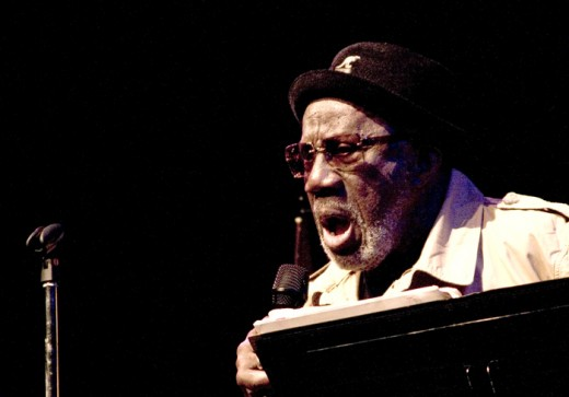 "classic Jazz vocalist, Bill Henderson "" Senor Blues"" at San Jose Jazz Festival"
