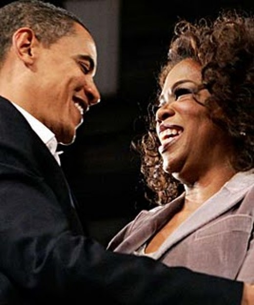 Oprah is well known as a new age goddess, but that seems not to matter to the most powerful man in the world....