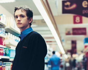 Ben at his night shift daydreaming