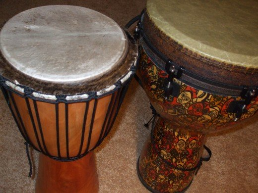 "If it's ""one djembe,"" is it ""two djembi?"""