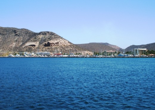 Marina Palmira in La Paz. This marina has been through a number of misguided ownership changes through the years..... Nice place, but many of the support businesses have closed and they still don't get it for some reason.