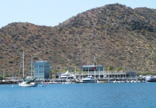 The FONATUR (formerly SINGLAR) Marina in Puerto Escondido - Shipyard, store, restaurant, and fuel dock and close to the city of Loreto. The SINGLAR marinas made the mistake of seriously over pricing themselves in the beginning, but new management has