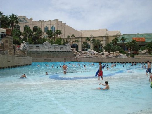 View of the Wave Pool