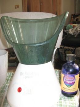 Facial Streamer & Rosemary Essential Oil