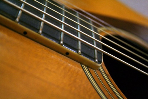 A guitar can be a great starting point for writing a song. (Photo by Nicole Holte)