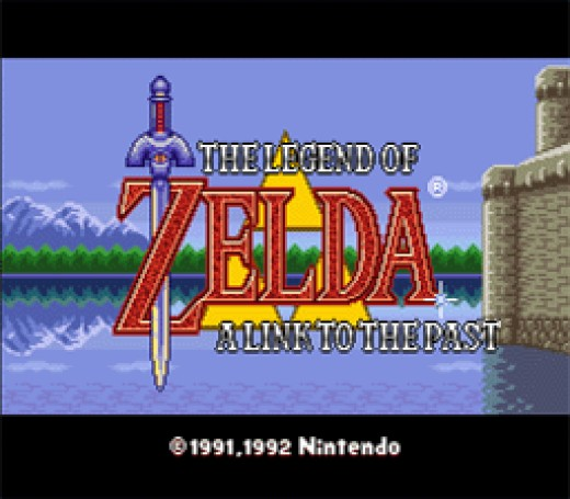 The title screen for this awesome game. Brings back sweet memories. :)