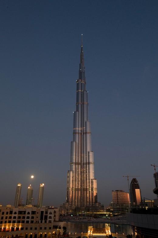 Burj Dubai Photo Creative commons