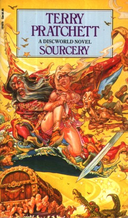 When Sourcery returns to the Discworld the entire fate of the Disc is threatened, only Rincewind can stop the Destruction of the Disc from raw magic!