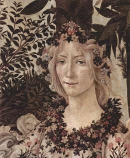 Flora, the flower goddess